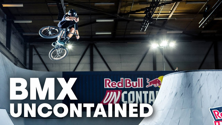 Red Bull Uncontained Practice BMX video