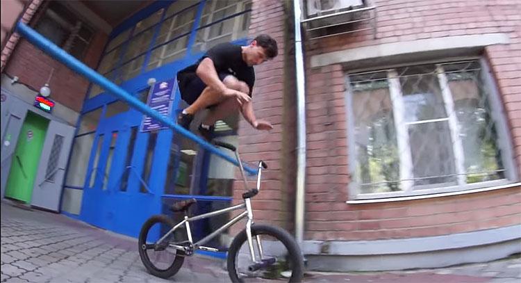 Stress BMX Roma Shalminov Welcome Video BMX