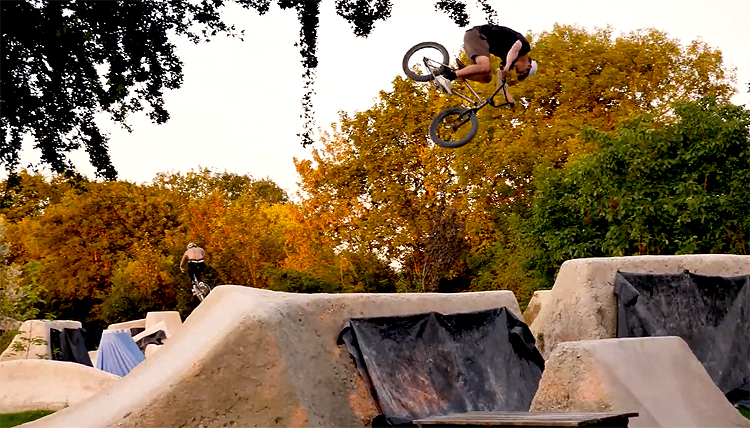 Villa Road Woodyard Trails Turn It Down Turn It Up BMX video