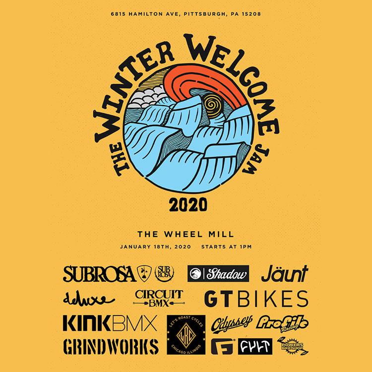 Winter Welcome Jam 2020 Flyer