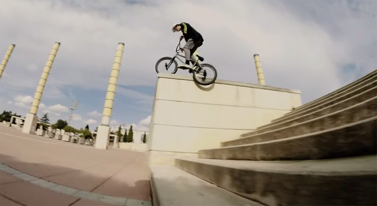 Anthony Perrin Day and Night BMX video