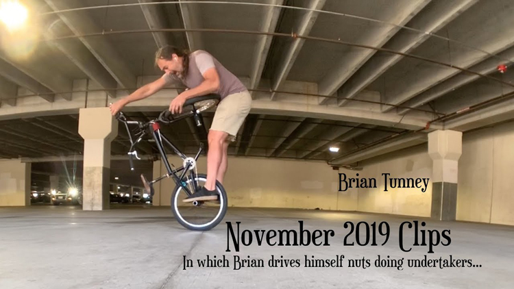 Brian Tunney November 2019 BMX clips