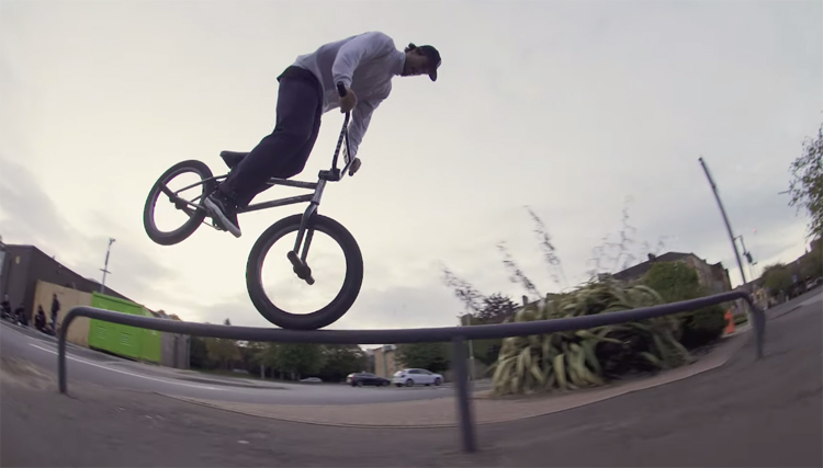 BSD X Odyssey Break Glasgow BMX video