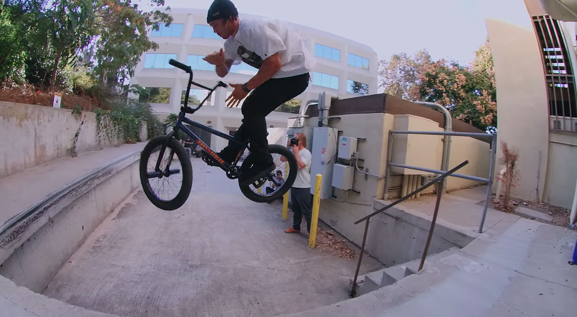 Chad Kerley Mike Gray Drop The Pin BMX video