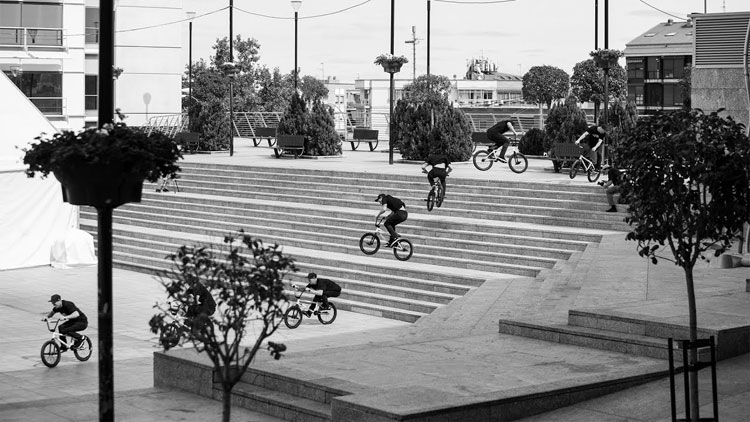 Federal Bikes Dan Lacey FTS BMX video