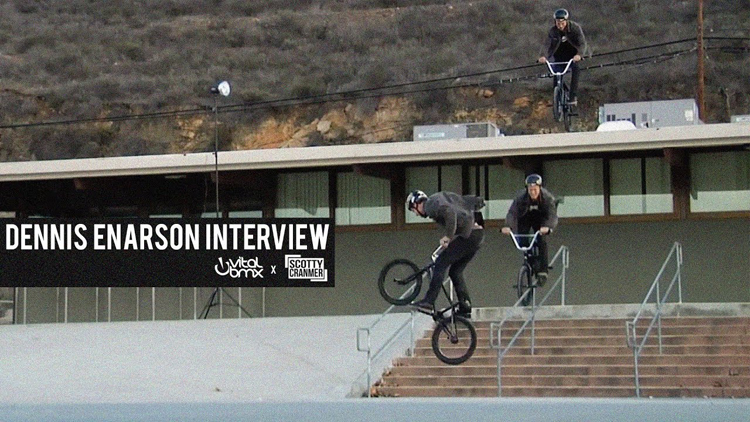 Dennis Enarson Interview Scotty Cranmer BMX