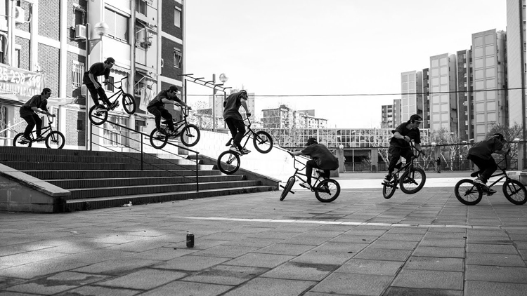 Federal Bikes FTS Anthony Perrin BMX video