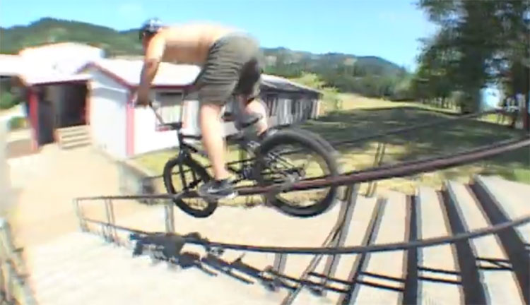 Goods BMX Nathan Hines 10 Clips BMX video