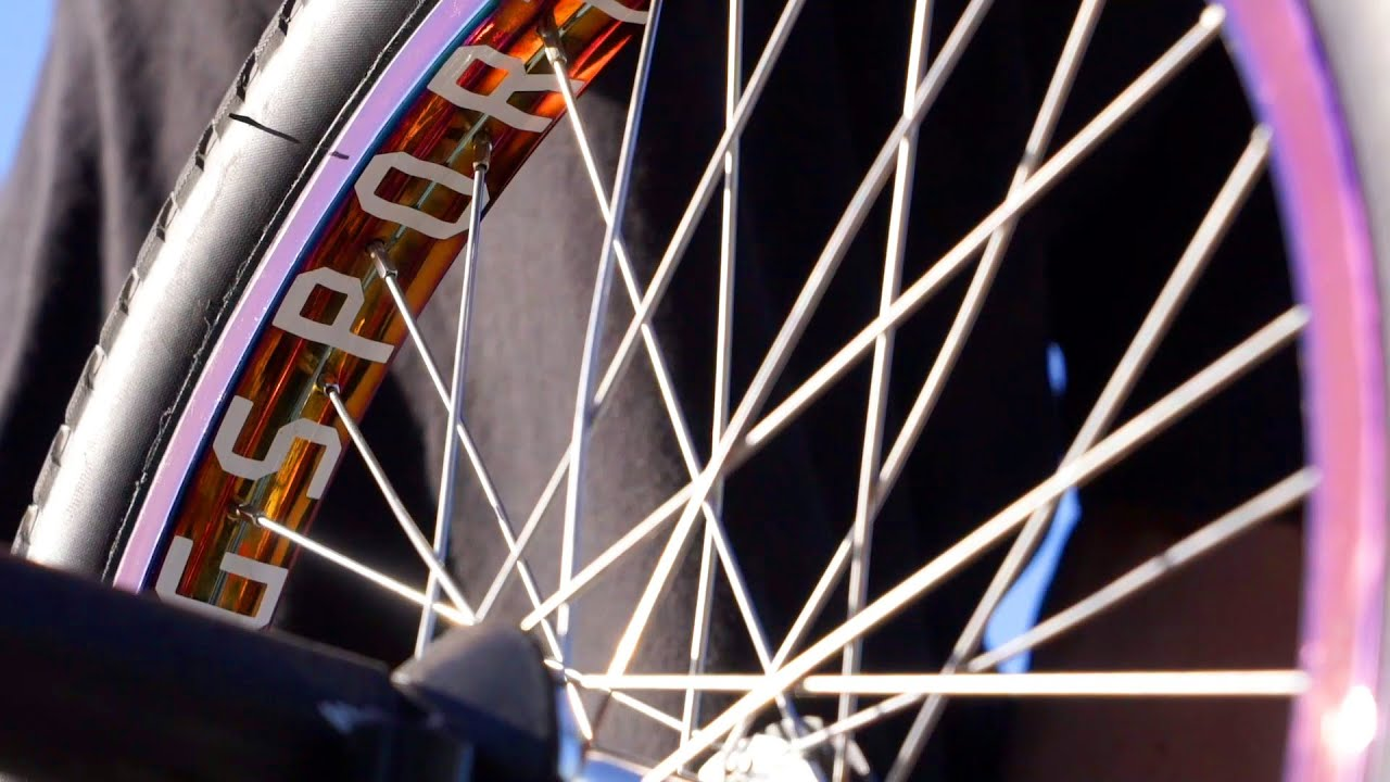 GSport BMX Oil Slick Rollcage Rim