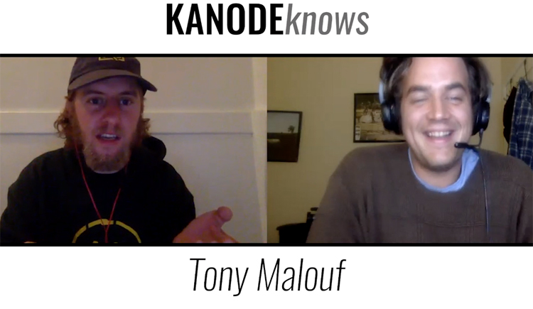 Kanode Knows Tony Malouf BMX