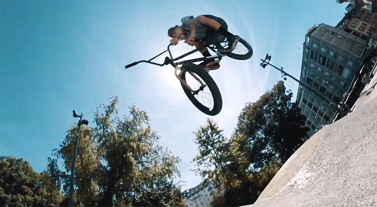 MarieJade Nico Badet No Future BMX video