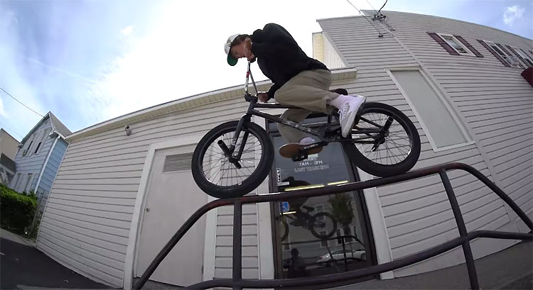 Mark Burnett Home VS Away BMX video Shadow Conspiracy