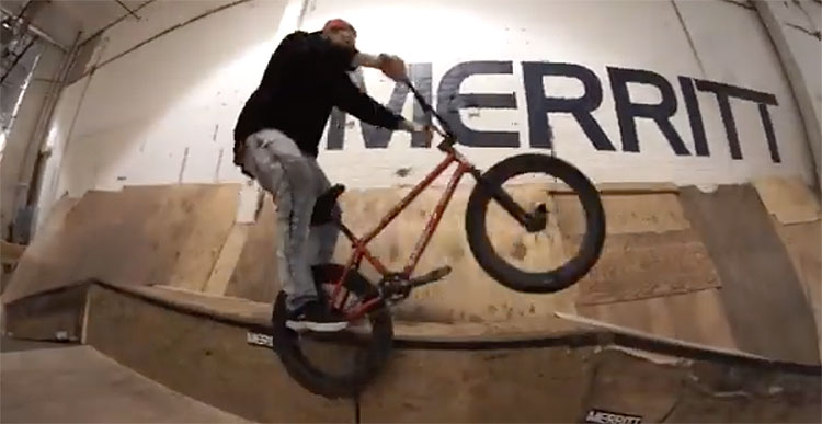 Merritt BMX Christmas In Jersey video