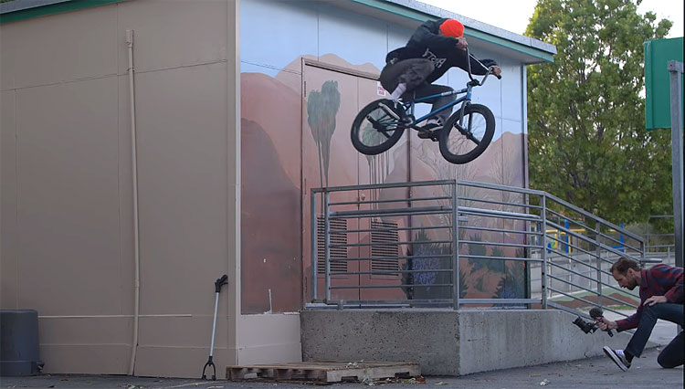 Mike Hoder Hobie Doan BMX video