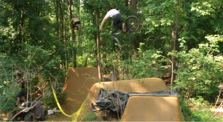 PA Woods 2019 BMX video
