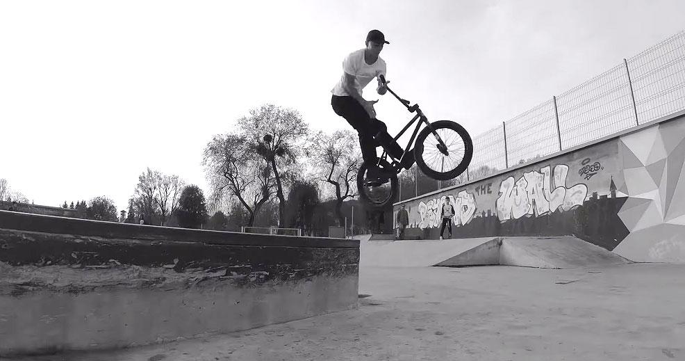 Raul Jula Baia Mare Skatepark BMX VIDEO