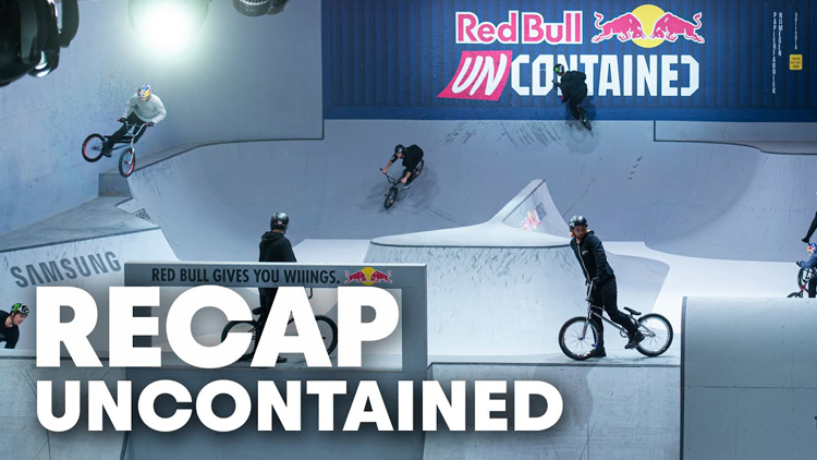 Red Bull Uncontained Recap BMX video
