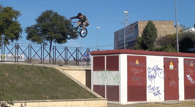 Seville Crew BMX video raw cut
