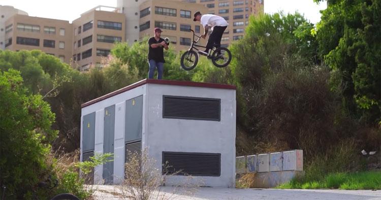 Stephan Atencio New Kid In Town BMX video