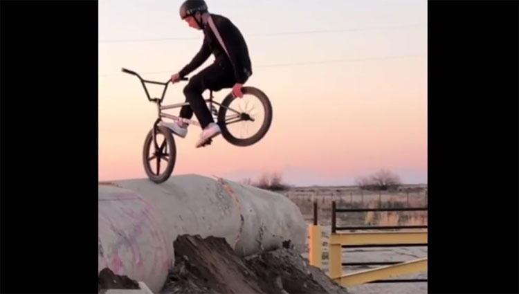 Tate Roskelley 2019 Instagram Compilation BMX video
