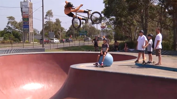 Back Bone BMX Summer 2020 Bowls Trip