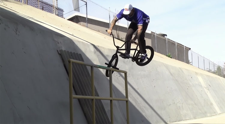 Broc Raiford on Sunday Bikes BMX Welcome video