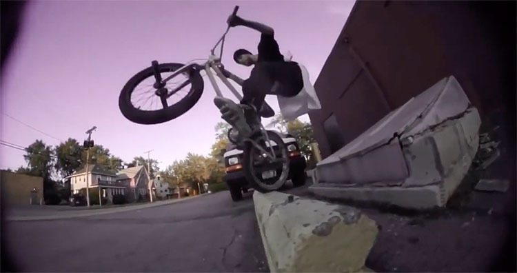 Charlie Crumlish BMXFU 20 A G BMX video