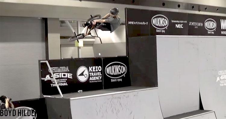 Chimera A-Side BMX park finals highlight