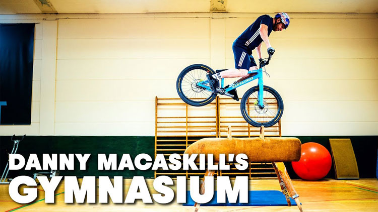 Danny MacAskill Gymnasium Video Red Bull