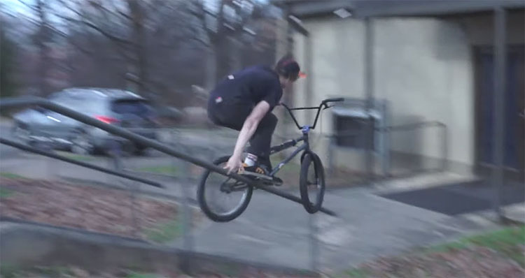 Declan Murray FBM BMX video