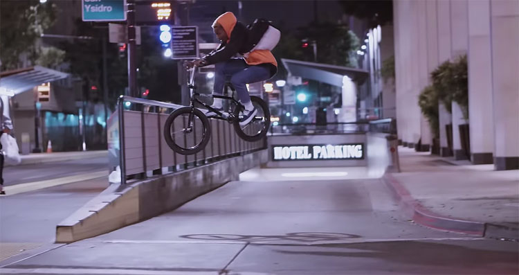 Demarcus Paul Night Hops BMX video