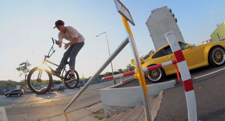 Federal Bikes Jakub Juza BMX video