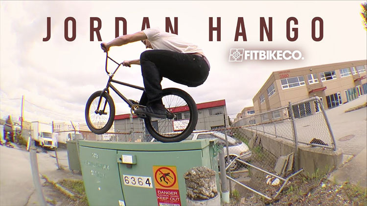 Fit Bike Co Jordan Hango Live From Vancouver BMX video