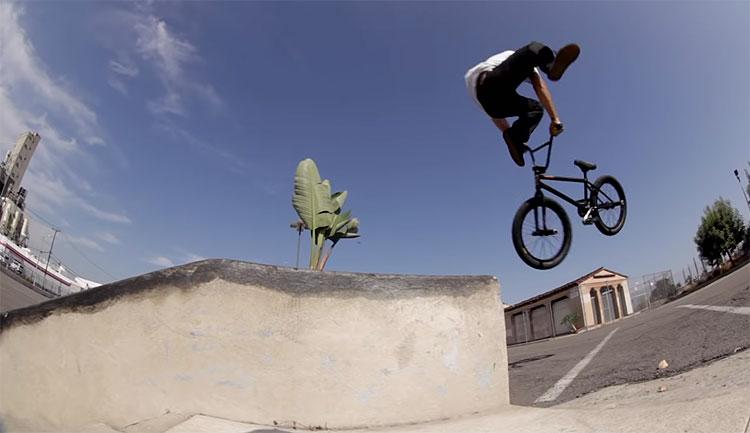 Gaspar Guendulain SoCal BMX video Our BMX