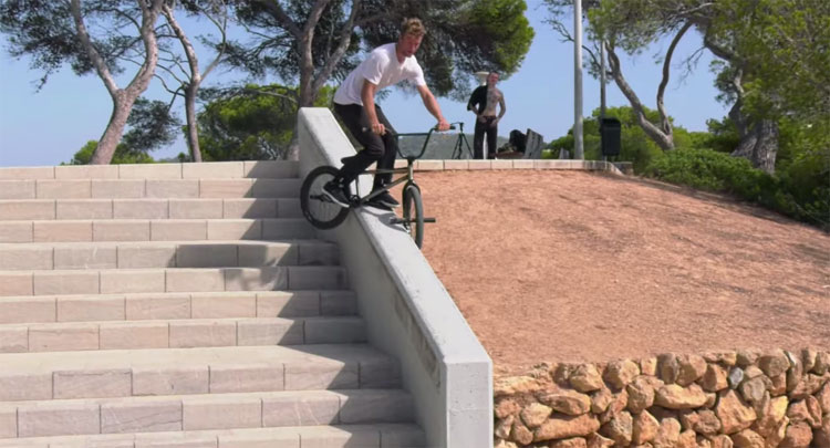 Happy Days In Mallorca BMX video