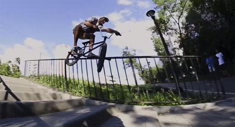 Ivan Nikolaev BMX video Stress BMX