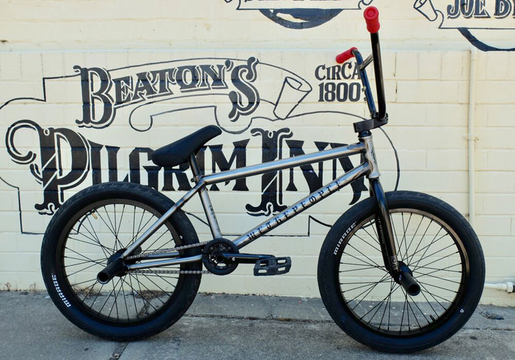 Jacman Hinss BMX Bike Check Wethepeople 2020
