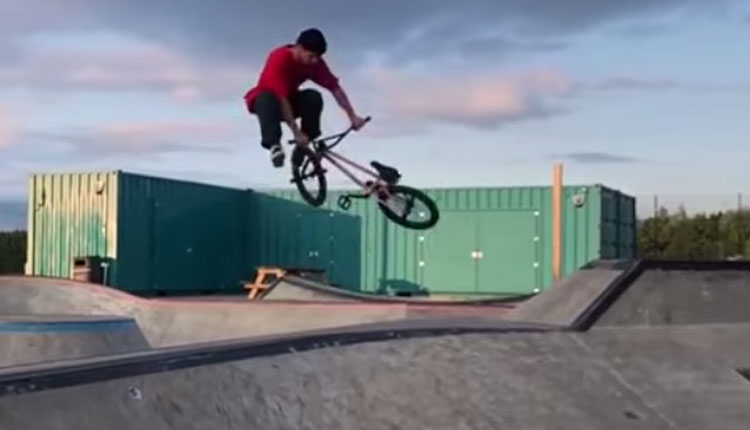 Jordan Godwin Instacuts Wethepeople BMX video