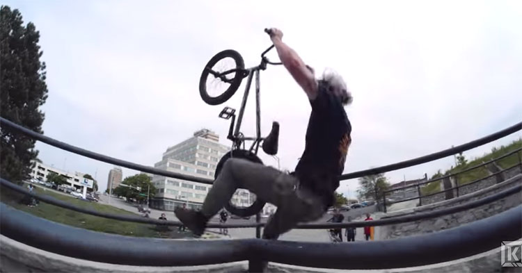 Kink BMX Champagne Crash Reel BMX video