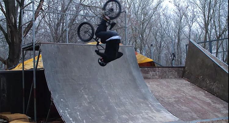 Mark Vukman BMX video