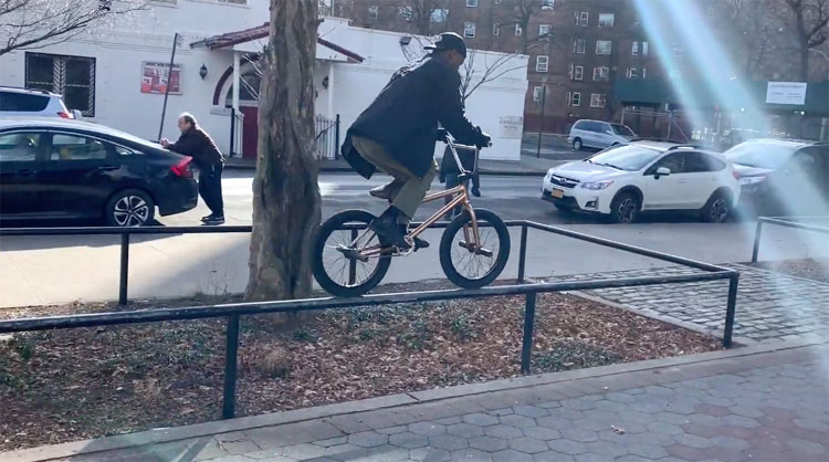 Markus Hoyte BMX video