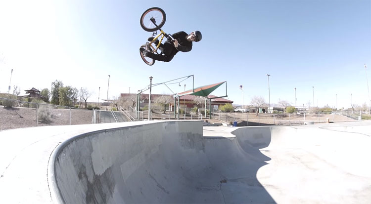 Matty Cranmer VS Concrete BMX video