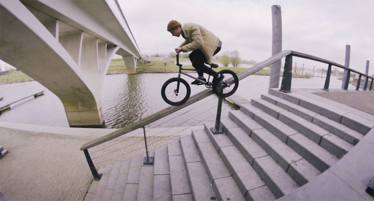 Miguel Smajli Lost Tape BMX video