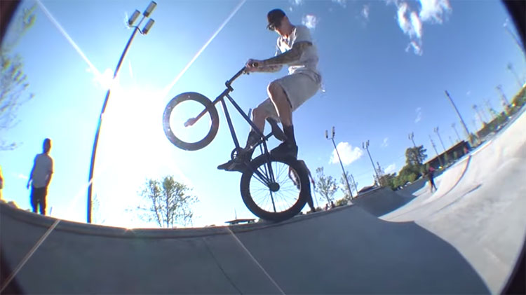 Riverside Skatepark Detroit Michigan BMX video