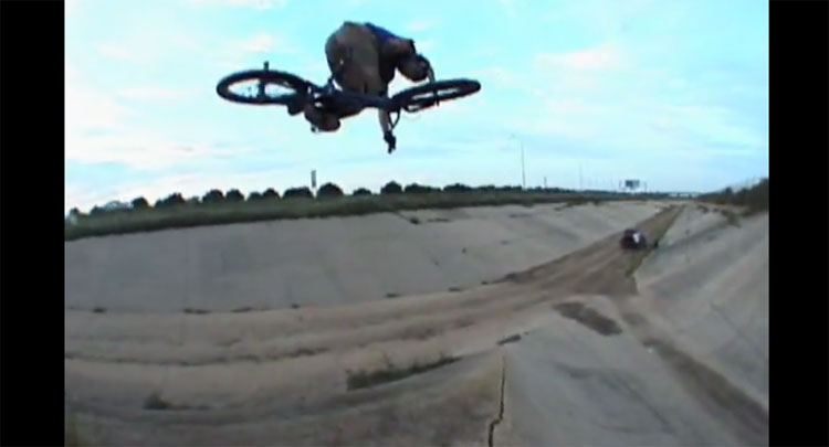 Ruben Alcantara Zride BMX video
