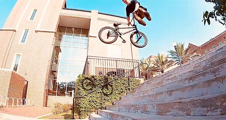 Scott Johnson Tallahassee BMX video