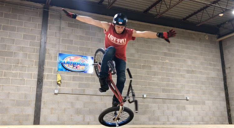 Steve Kolb Fall In Fall Away BMX video