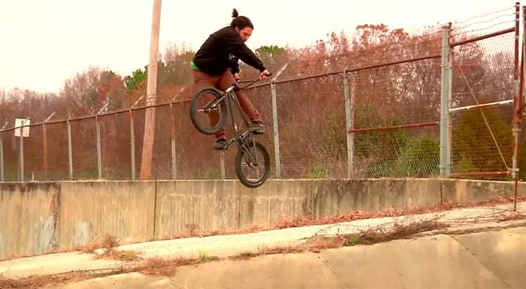 TK Billups David Cortez BMX video