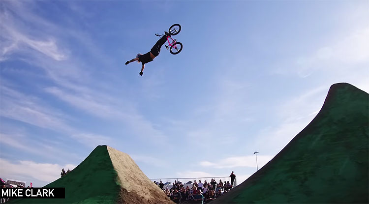 Toyota BMX Triple Challenge Anaheim highlights video Monster Energy