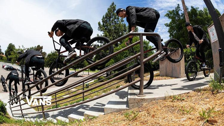 Vans BMX Shimmer Haze Bruno Hoffmann, Andrew Castaneda Calvin Kosovich